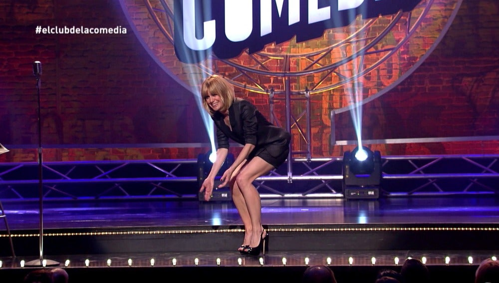 Alexandra Jiménez en el Cub de la Comedia