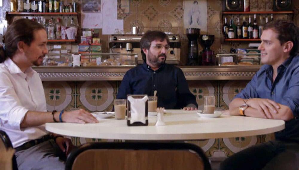 Cara a cara entre Pablo Iglesias y Albert Rivera, en Salvados