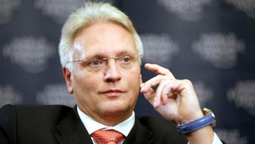 Winfried Vahland, presidente de Skoda Auto