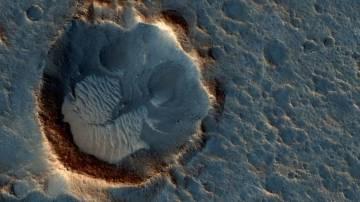 Imagen de la Acidalia Planitia captada por la MRO