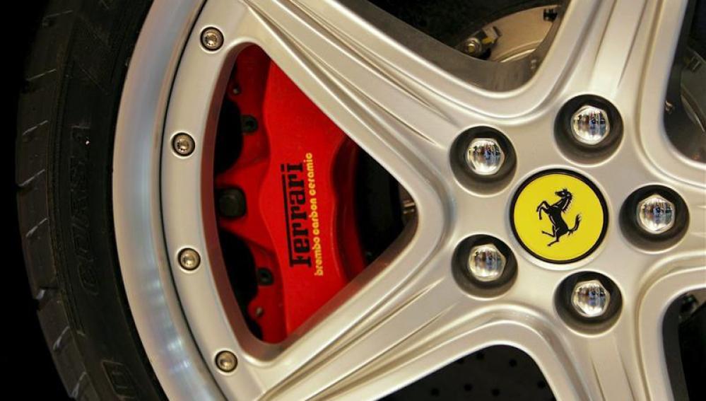 El logo de Ferrari