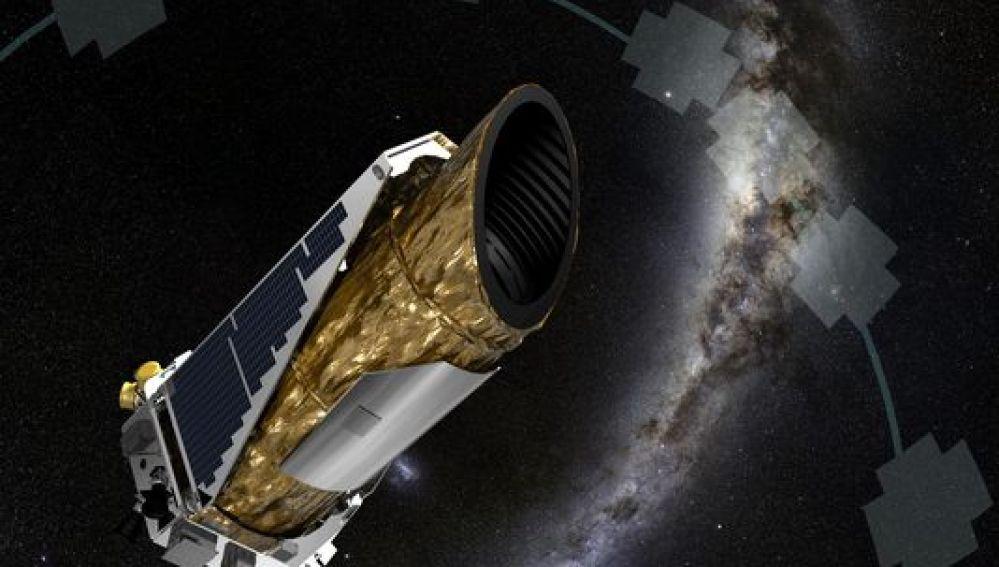 Campos de visión del observatorio espacial Kepler
