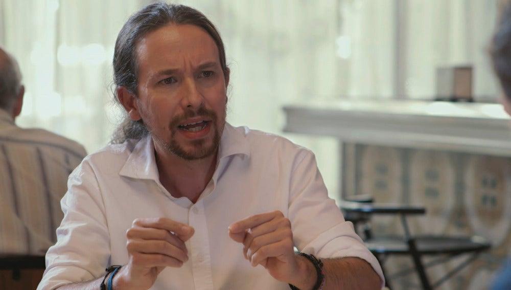 """Pablo Iglesias: """"Lo que cobran los eurodiputados me parece una cosa vergonzosa"""""""