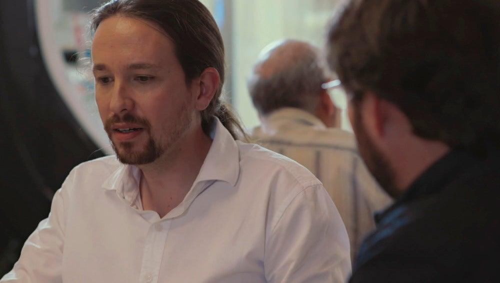 """Pablo Iglesias: """"El franquismo sentó las bases del capitalismo de amiguetes"""""""