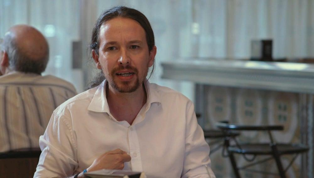 """Pablo Iglesias: """"Es posible que hubiera tenido que decirle a Monedero que hiciera esa complementaria inmediatamente"""""""