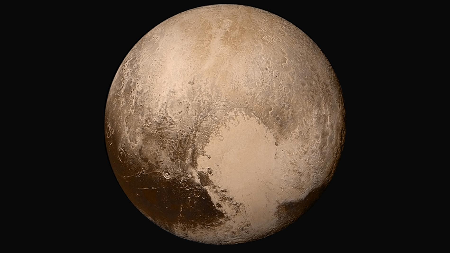 Imagen en alta resolución de Plutón toma