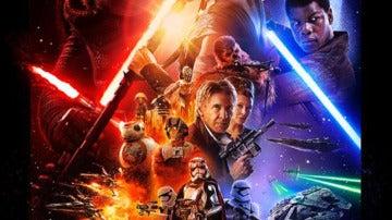 Póster de 'Star Wars: El despertar de la fuerza'