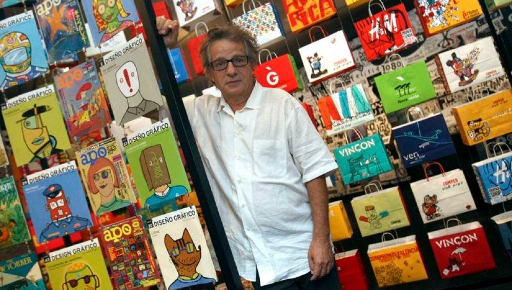 El diseñador y 'padre' de Cobi Javier Mariscal