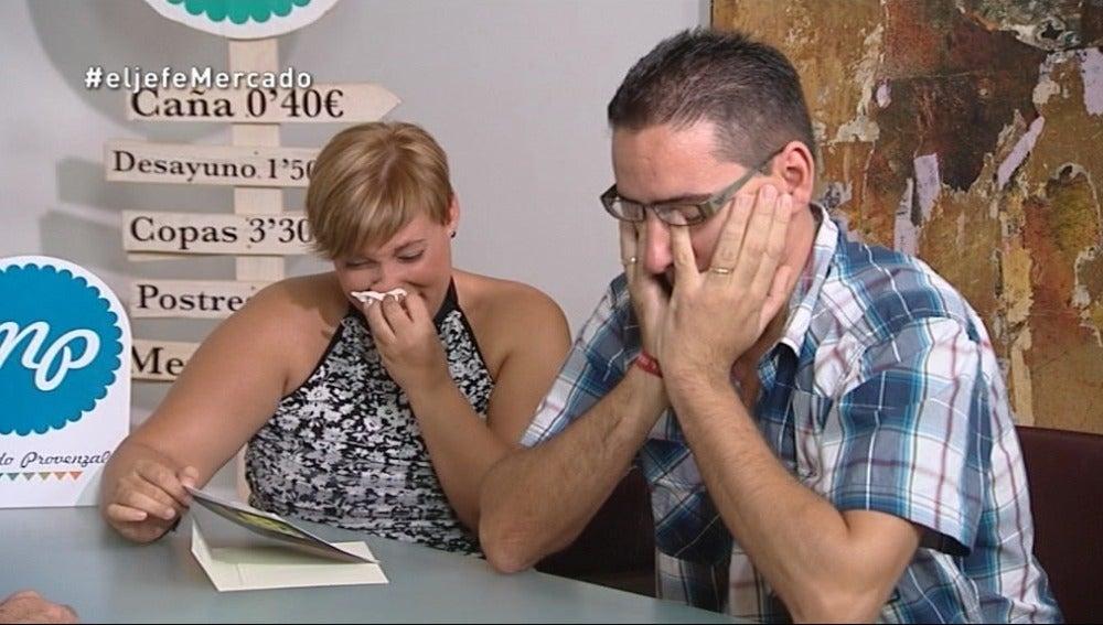 Irene y Agustín se encuentra e Álvaro Samper en las revelaciones