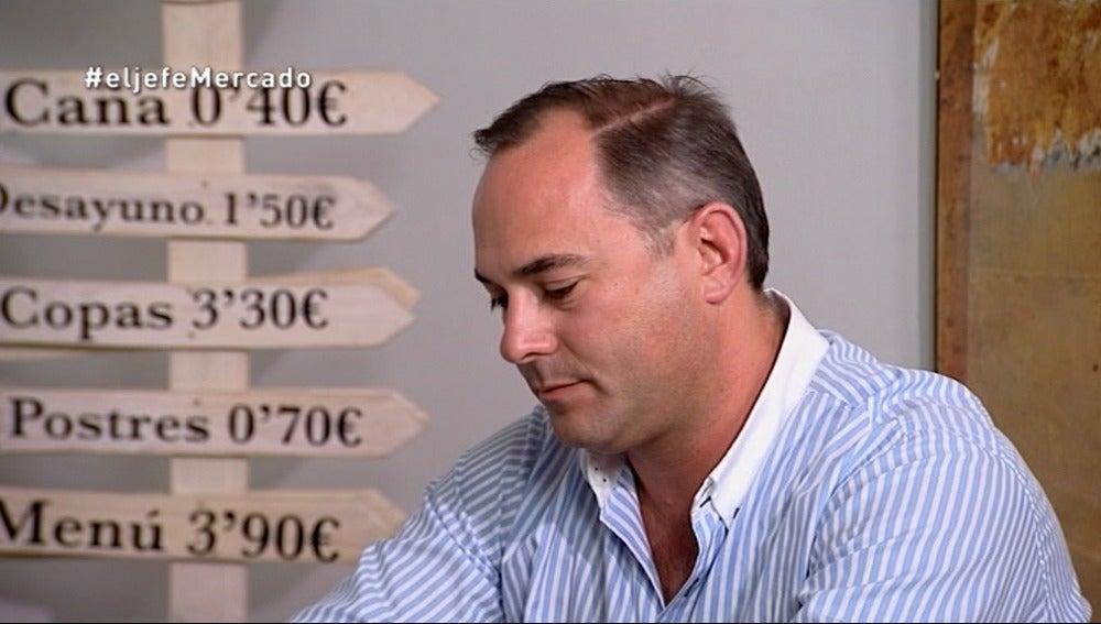 José Ángel se encuentra e Álvaro Samper en las revelaciones
