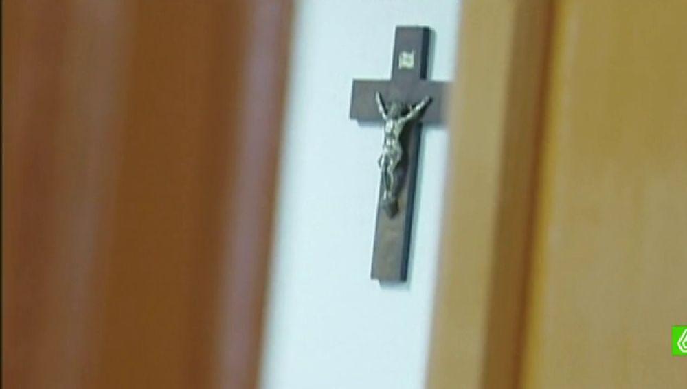 Aula donde se imparte la asignatura de Religión