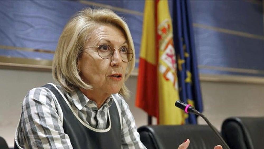 Rosa Díez en el Congreso de los Diputados