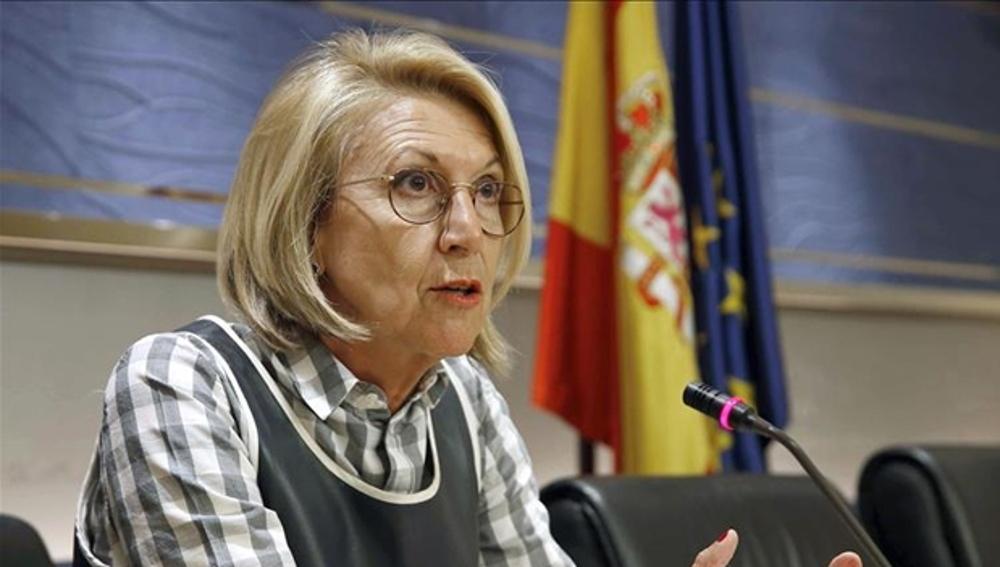 La confundadora de UPyD, Rosa Díez.