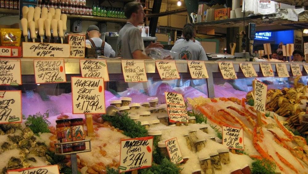 Establecimiento de un supermercado