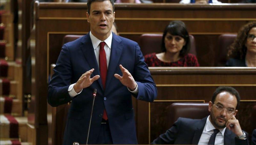 Sánchez en el Congreso