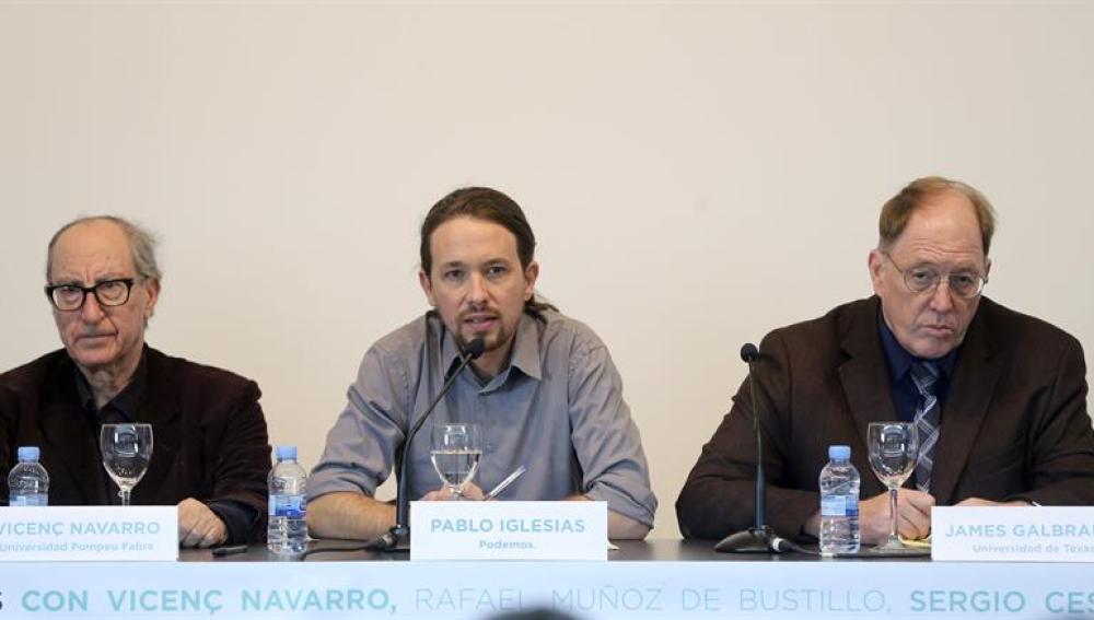 Iglesias presenta a sus expertos económicos
