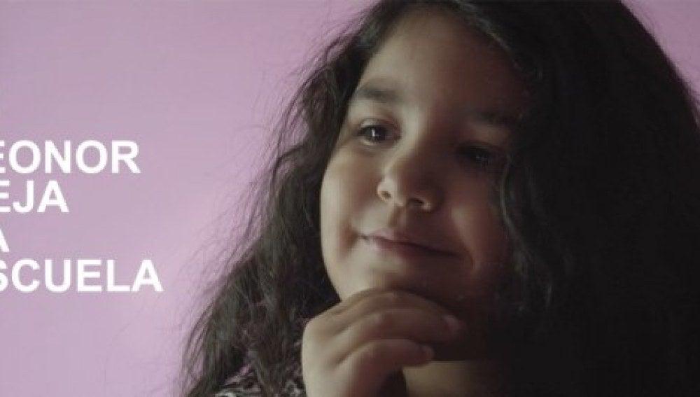 Leonor, la niña gitana