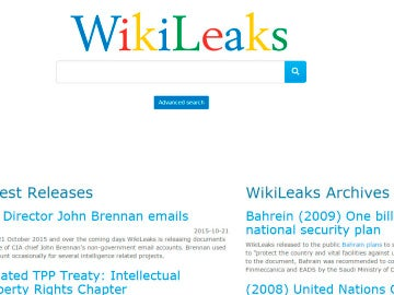 Página de Wikileaks