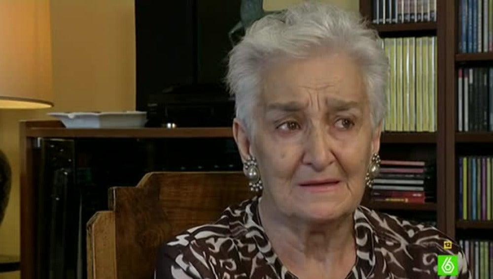 Hilda Farfante, familiar de víctimas del franquismo