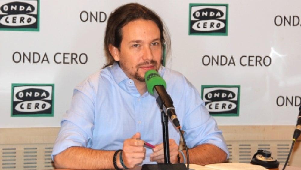 Pablo Iglesias en Onda Cero