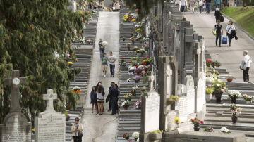 Imagen del cementerio de la Campana, en Sevilla
