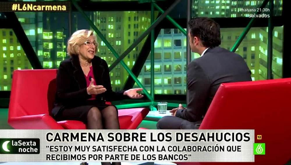 Carmena en laSexta Noche