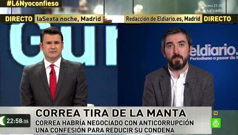 Iñaki López e Ignacio Escolar