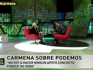 Carmena e Iñaki López