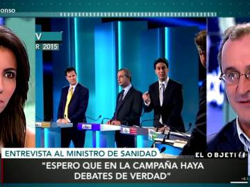Alonso sobre los debates