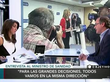 Alonso habla sobre Quiroga