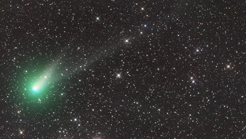 Imagen del cometa C/2013 US10 (Catalina) tomada el 11 de agosto de 2015, desde Siding Spring (Australia).