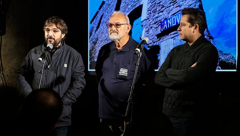 Jordi Évole preestrena el programa de Jánovas