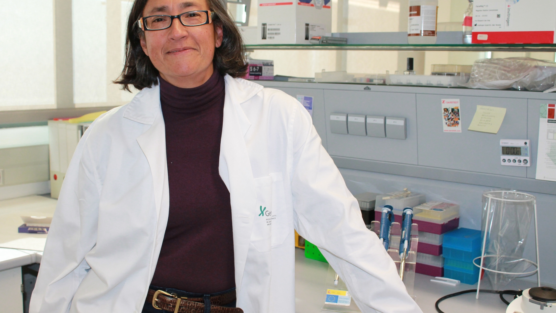 La investigadora de GENYO Marta Alarcón