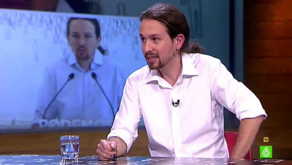 Pablo Iglesias, en El Intermedio
