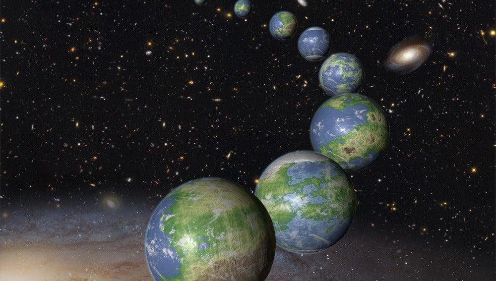 Recreación de planetas por la NASA