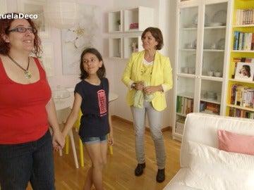 Elena recupera su salón tras 10 años