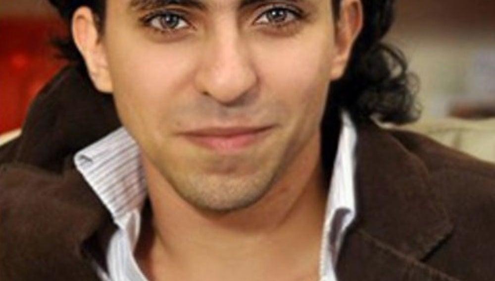 El bloguero saudí Raif Badawi