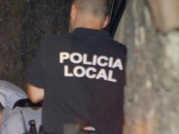 Miembros de la policia local de Vigo