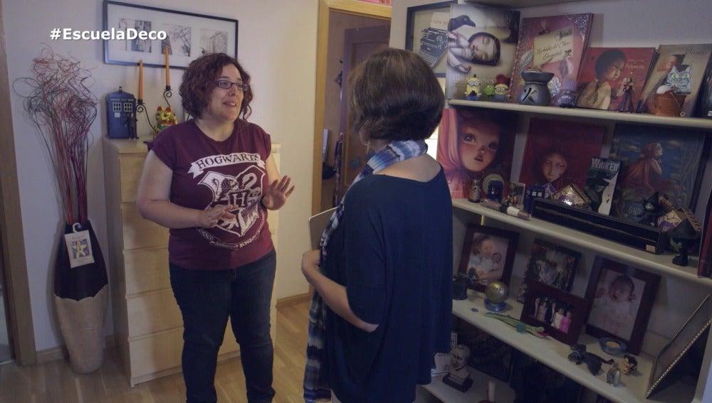 La Escuela de Decoración ayuda a Elena con su salón