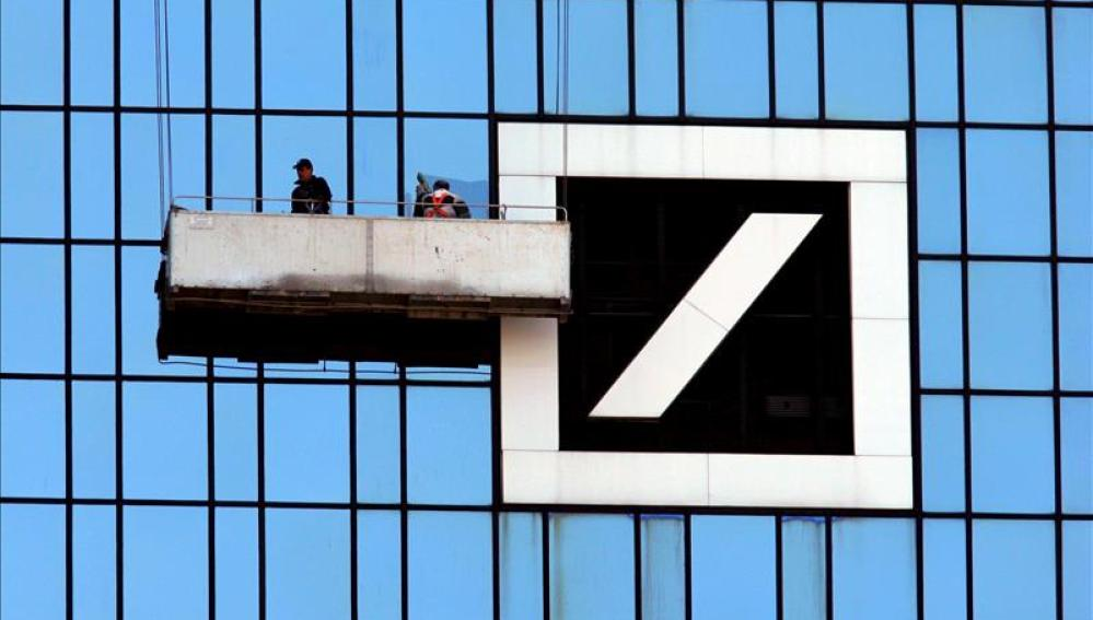 Imagen de la sede del Deutsche Bank en Francfort