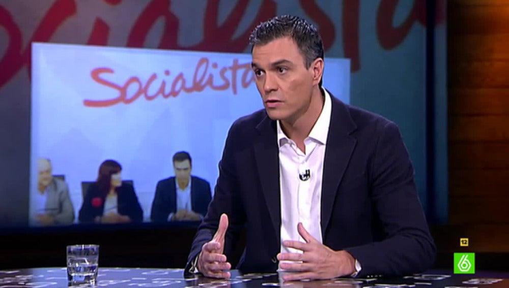 Pedro Sánchez visita El Intermedio