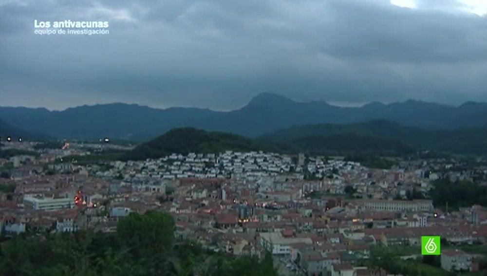 comarca de La Garrotxa, en Cataluña