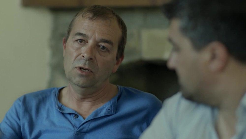 José Mari Santos, vecino de Jánovas