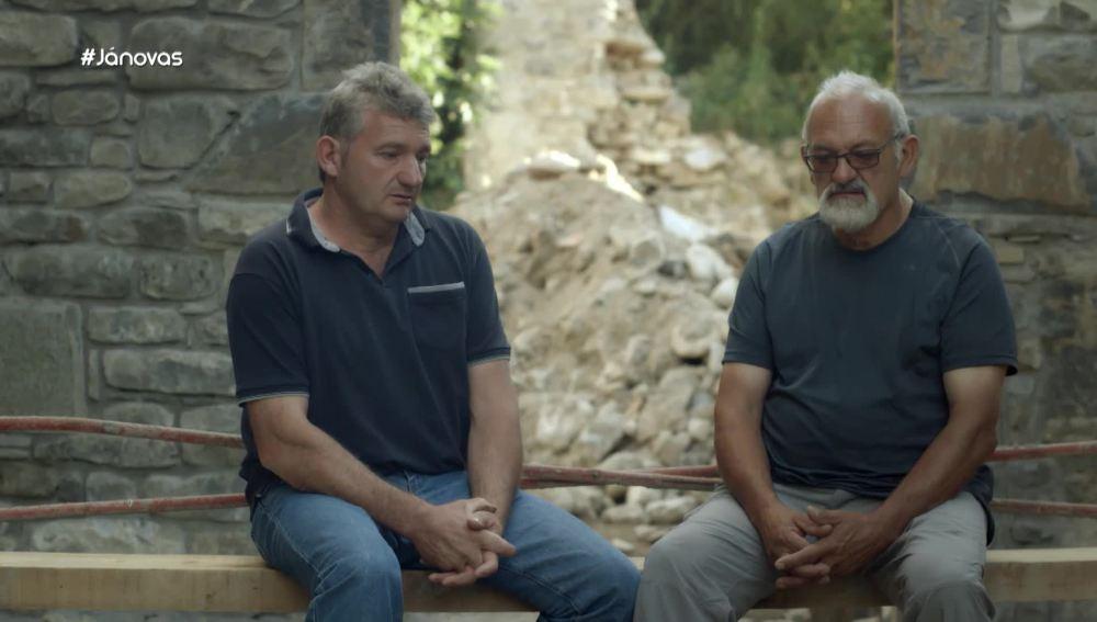 Los hermanos Garcés, vecinos de Jánovas