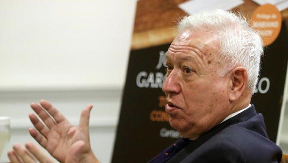 García Margallo en la presentación de su libro