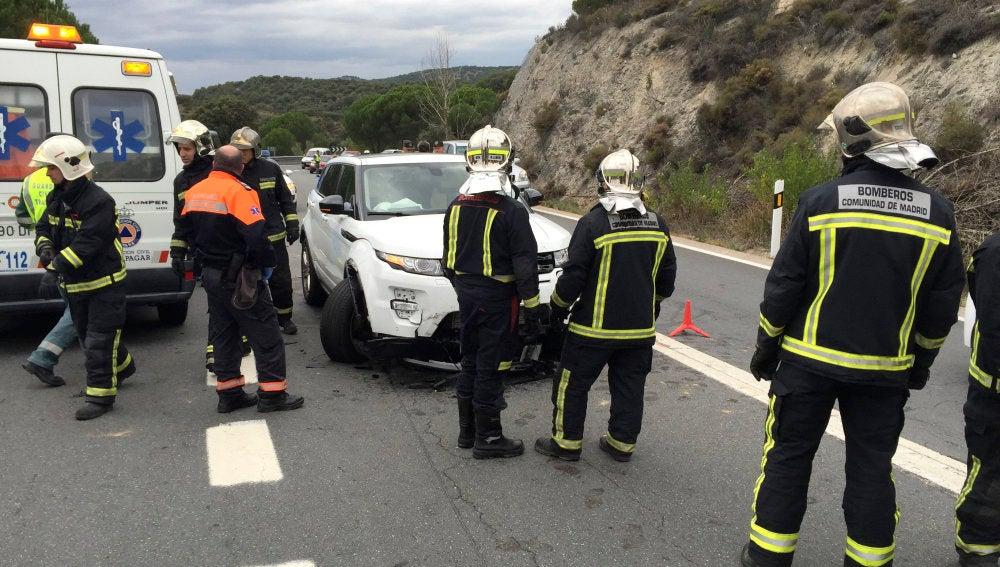 Motorista de 25 años muere en un accidente en Galapagar