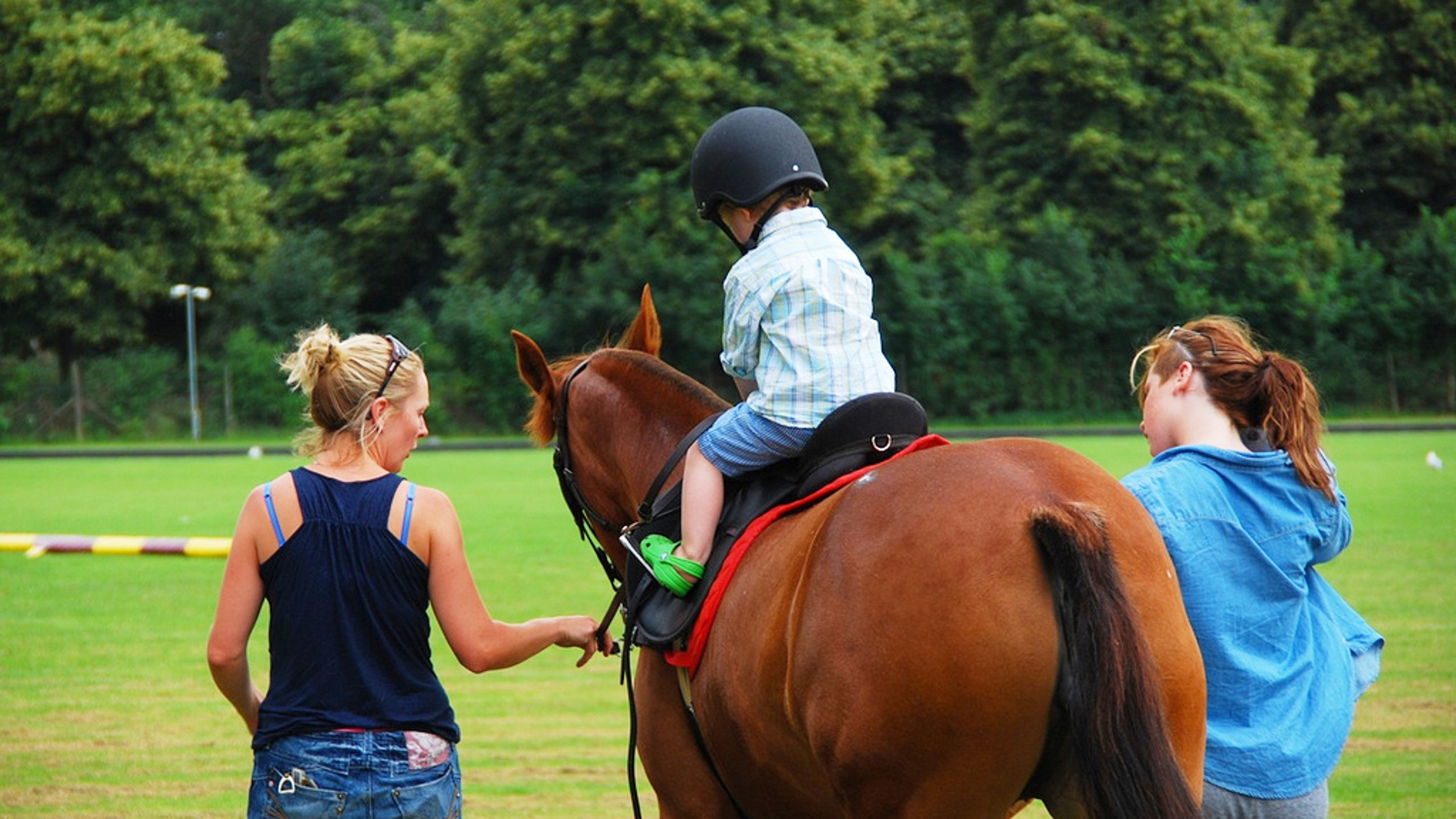 Montar a caballo es una terapia compleme