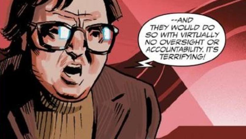 Frank Marhuender en el cómic del Capitán América