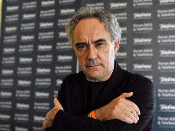 El cocinero español Ferran Adriá