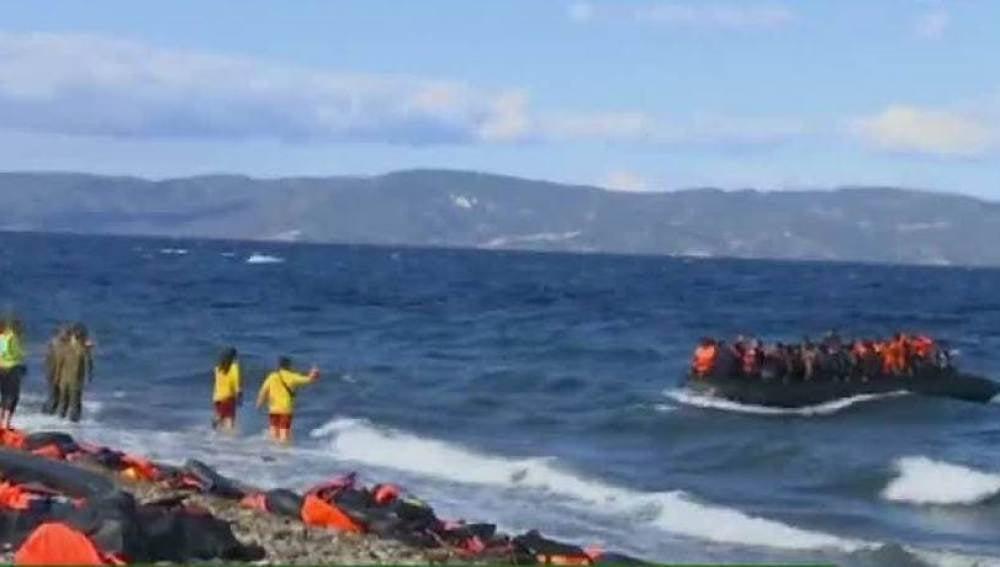 Óscar CAmps, sobre la crisis de Lesbos